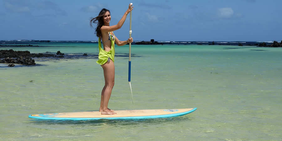 Stand up paddle (SUP) en Lanzarote